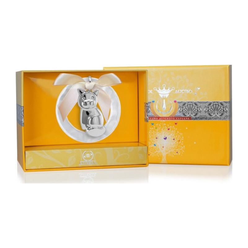 Серебряная погремушка арт. 1жи0122а-мр 1жи0122а-мр