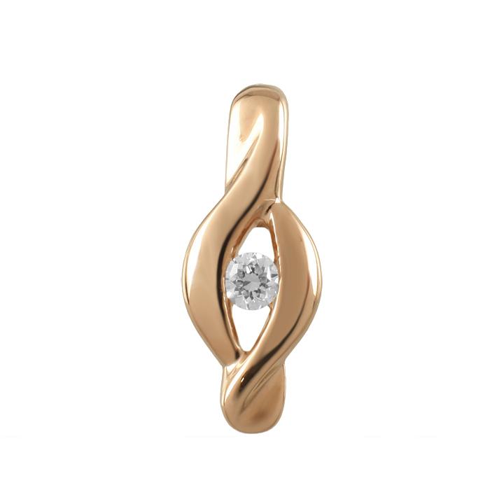 Золотой подвес с бриллиантом арт. 90682 90682