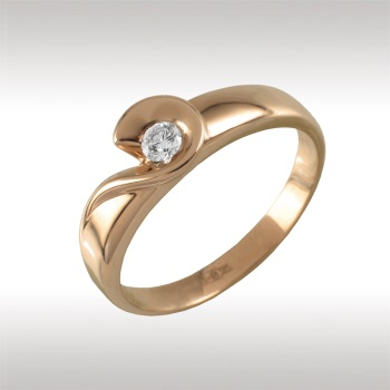 Золотое кольцо Бриллиант арт. 90697 90697
