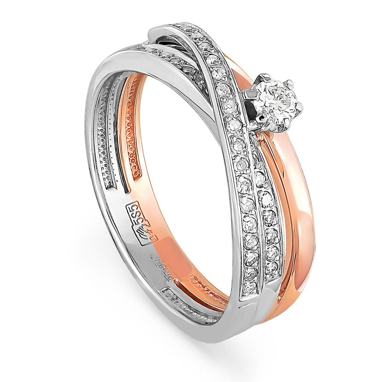 Золотое кольцо Бриллиант арт. 1-0341-1000 1-0341-1000