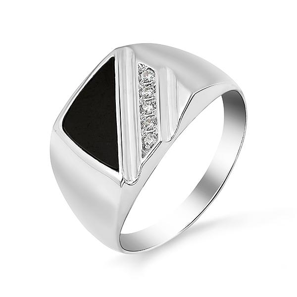 Серебряная печатка с фианитом Фианит арт. 1r02061 1r02061
