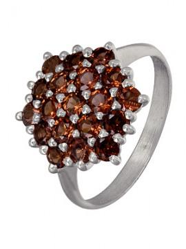 Серебряное кольцо Гранат арт. 3137003215 3137003215