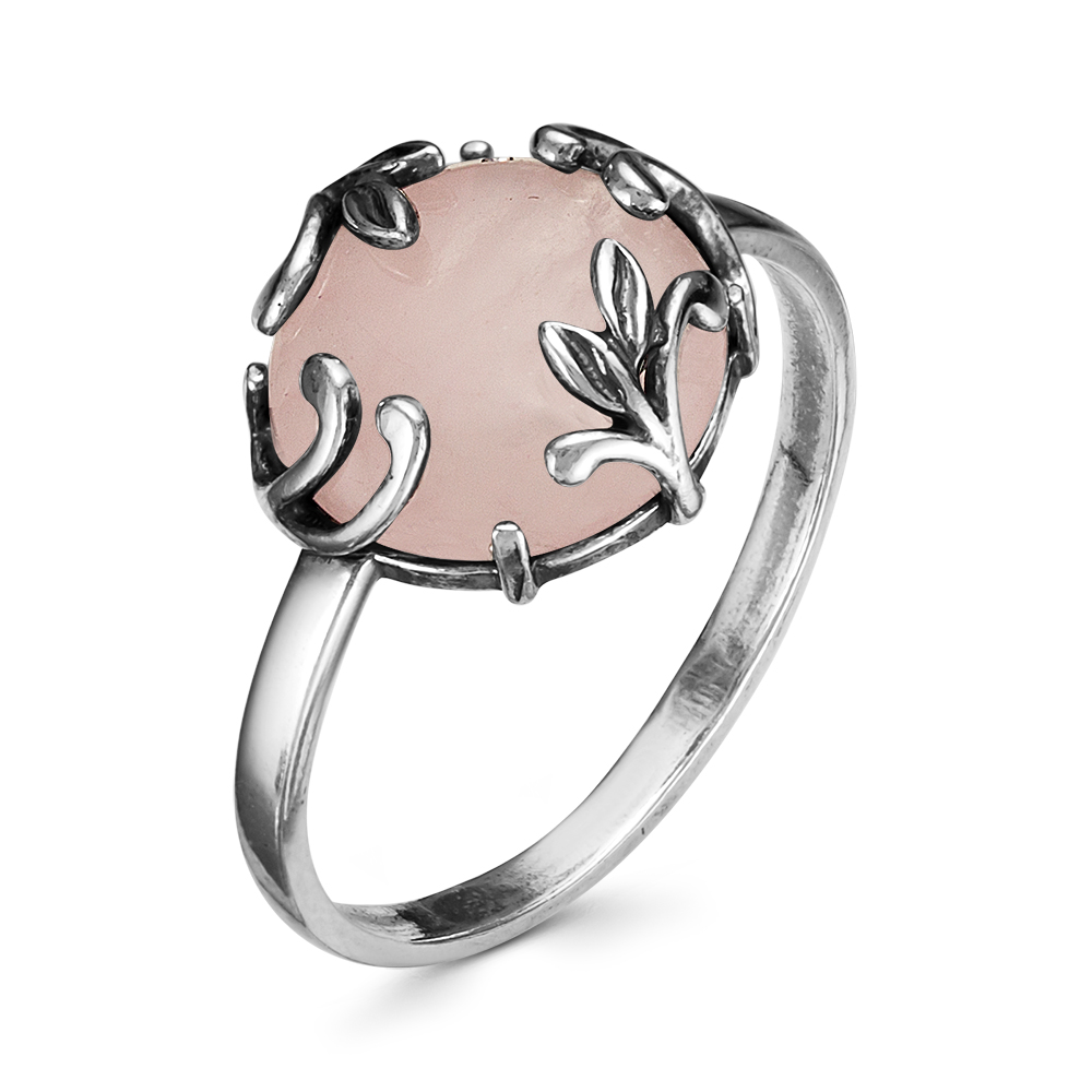 Серебряное кольцо Кварц арт. 2338946к 2338946к