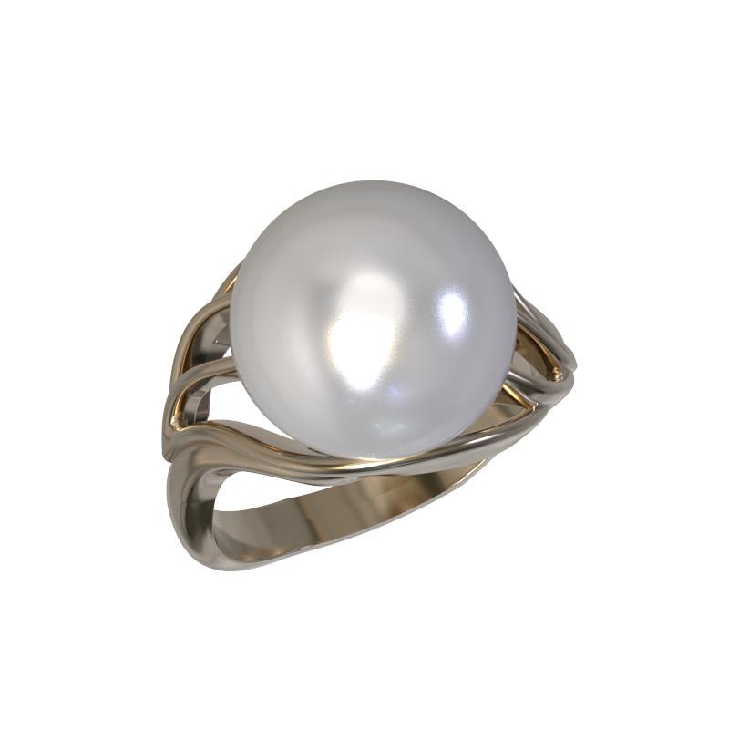 Золотое кольцо Жемчуг арт. 1021861-11250 1021861-11250
