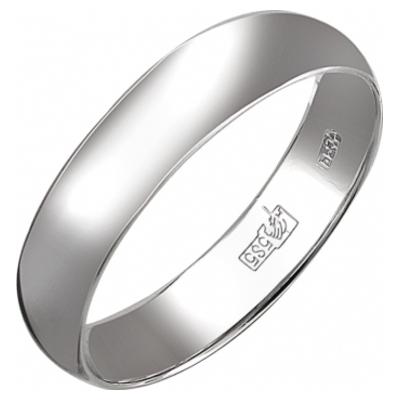 Обручальное кольцо из белого золота арт. 01о020376 01о020376
