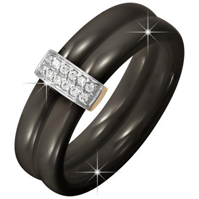 Золотое кольцо Кристалл сваровски и Прочие арт. 3100521 3100521