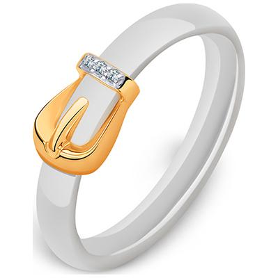 Золотое кольцо Кристалл сваровски и Прочие арт. 3101991 3101991