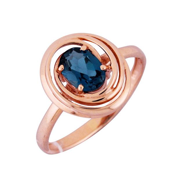 Серебряное кольцо Цитрин арт. 1910748 1910748