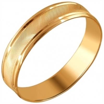 Обручальное кольцо из золота арт. 01о710410 01о710410
