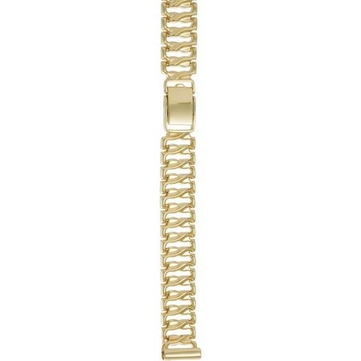 Женский браслет для часов из лимонного золота размер присоединительного ушка 12 арт. 63013 63013