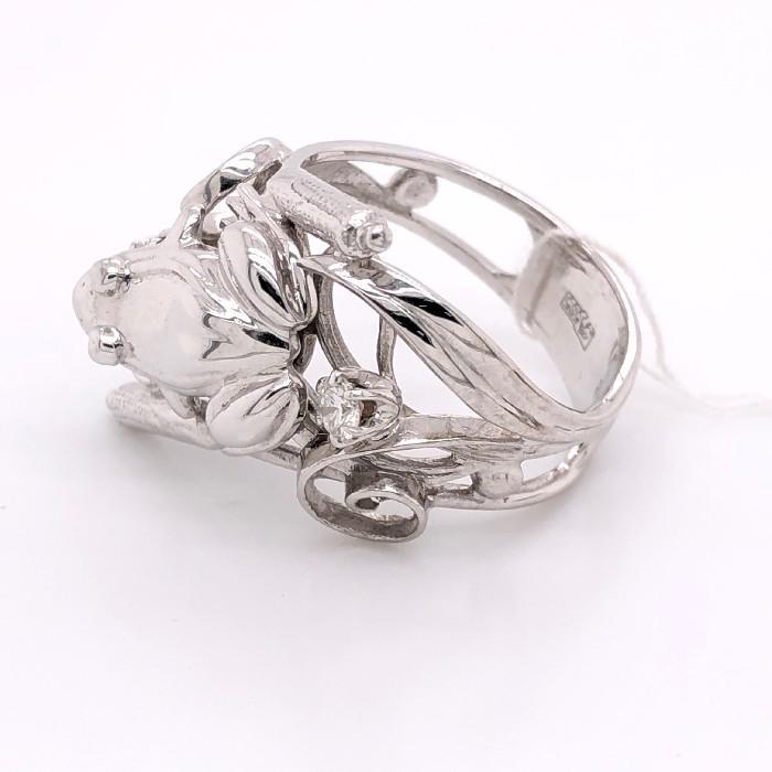 Кольцо из белого золота Бриллиант арт. 81622064 81622064