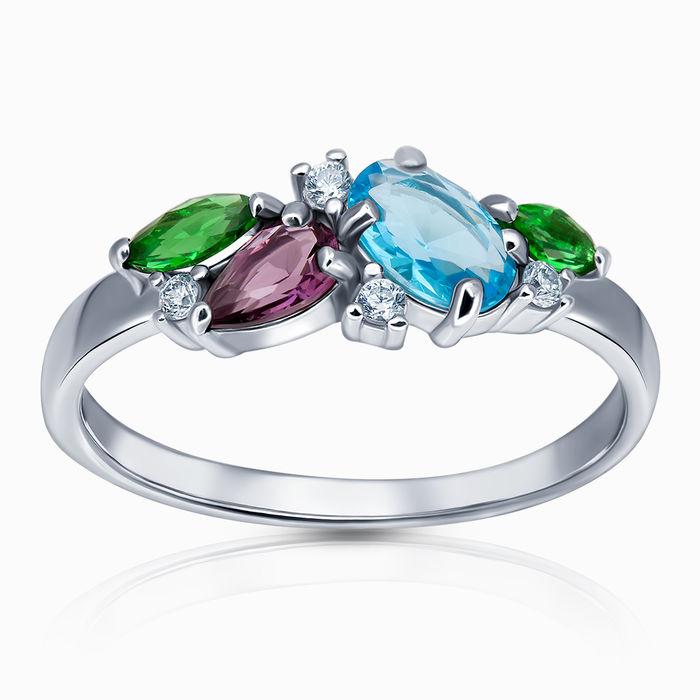 Серебряное кольцо Прочие и Фианит арт. 44981 44981