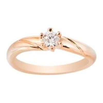 Помолвочное кольцо из золота с бриллиантом Бриллиант арт. к11036бр к11036бр