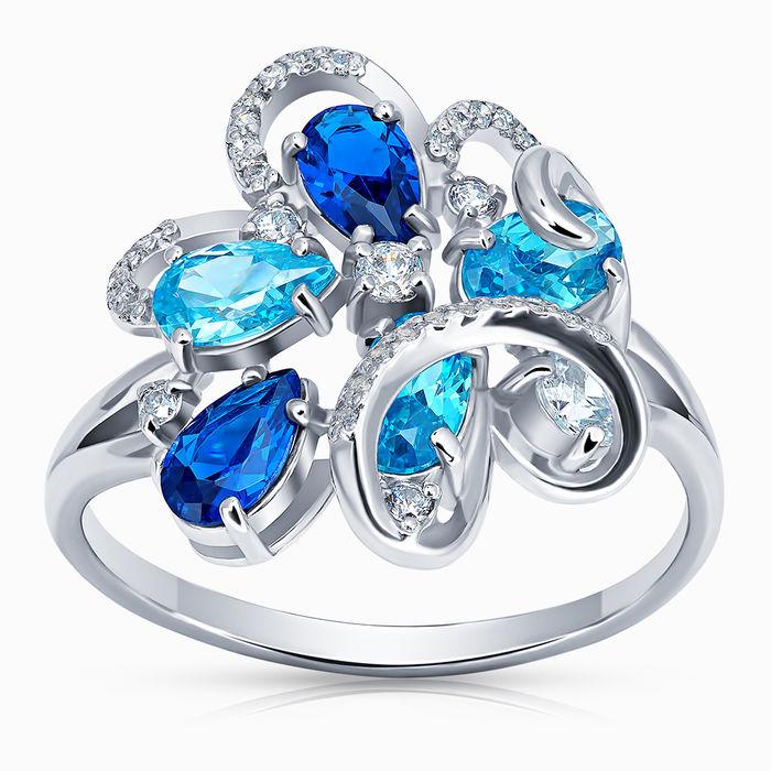 Серебряное кольцо Фианит арт. 44736 44736