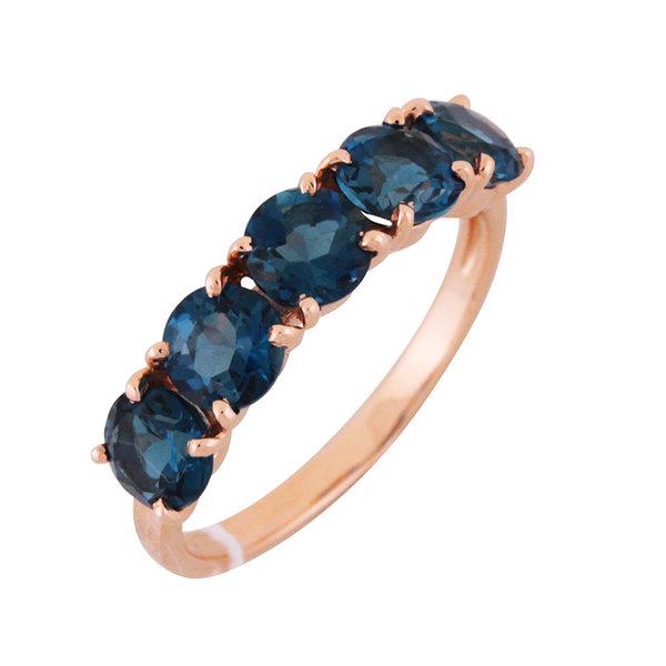 Золотое кольцо Топаз арт. 1650309 1650309