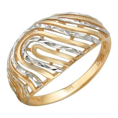 Золотое кольцо Без вставки арт. 01к716463 01к716463