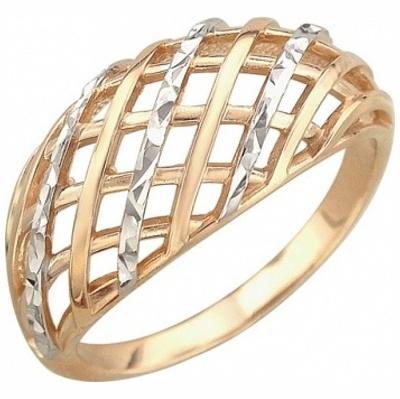 Золотое кольцо Без вставки арт. 01к716464 01к716464