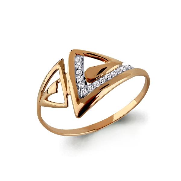 Золотое кольцо Фианит арт. 63922 63922