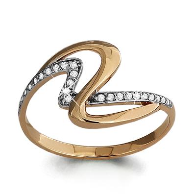 Золотое кольцо Фианит арт. 63446а 63446а