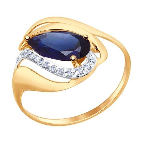 Золотое кольцо Прочие и Фианит арт. 714689 714689