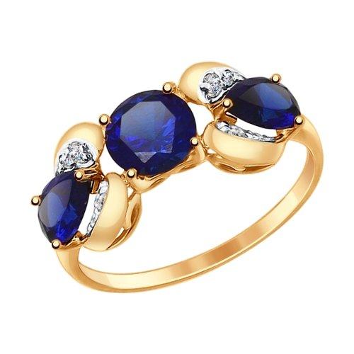 Золотое кольцо Прочие и Фианит арт. 714699 714699