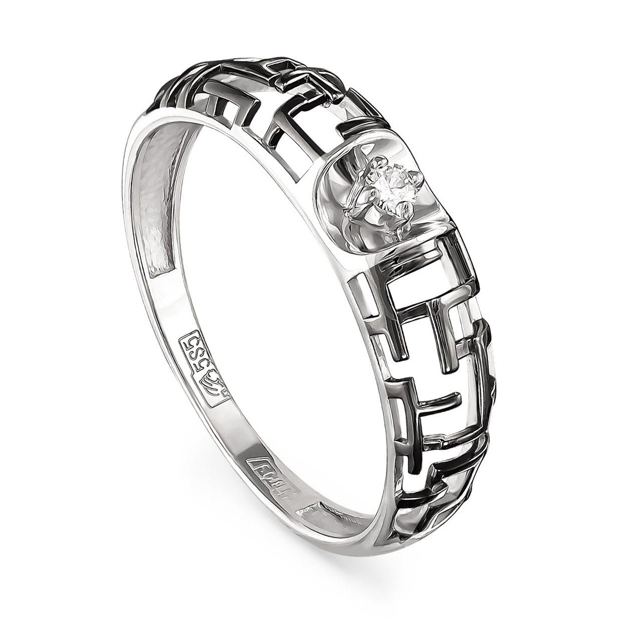 Кольцо из белого золота Бриллиант арт. 11-1933-1000 11-1933-1000