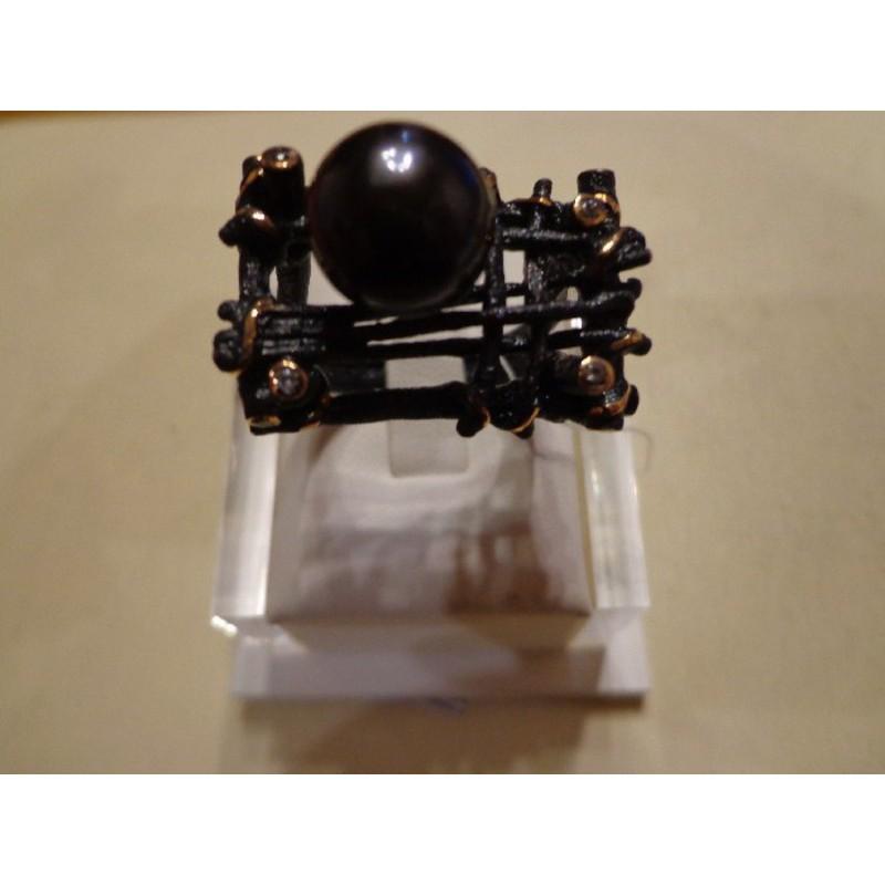 Серебряное кольцо Жемчуг арт. 51247A1B 51247A1B