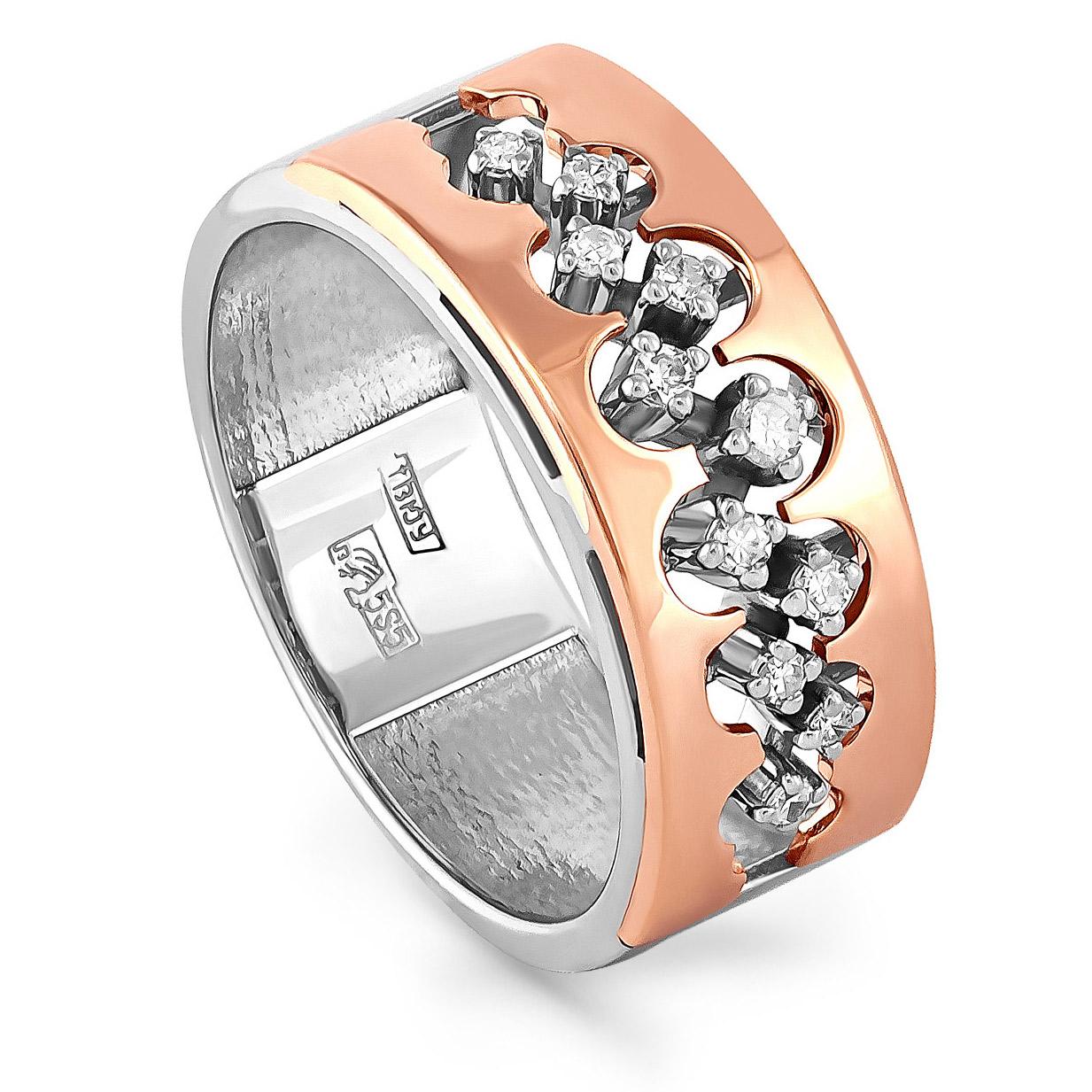 Кольцо из белого золота Бриллиант арт. 11-0941-1000 11-0941-1000