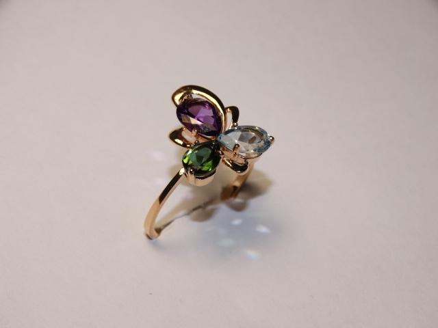 Серебряное кольцо Прочие арт. 4к-80104-04 4к-80104-04