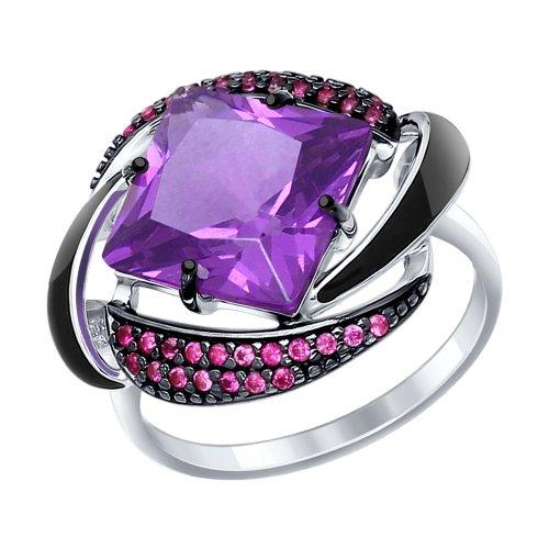 Серебряное кольцо Прочие и Фианит арт. 92011301 92011301
