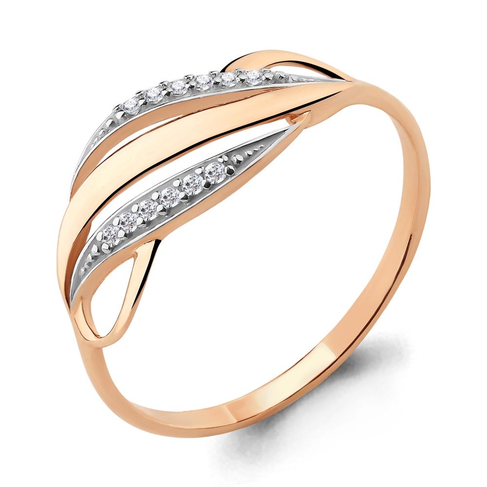 Золотое кольцо Фианит арт. 64766а 64766а