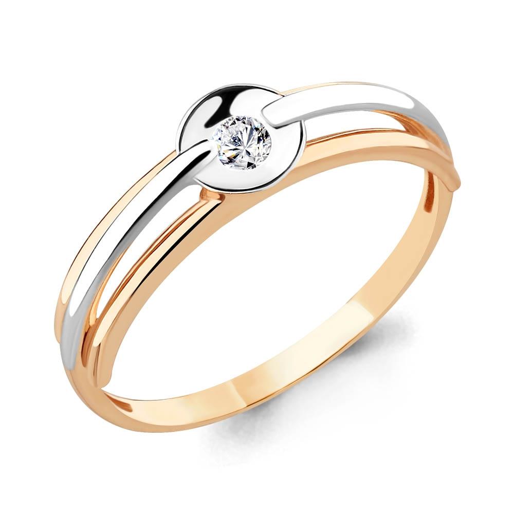 Золотое кольцо Фианит арт. 68010 68010