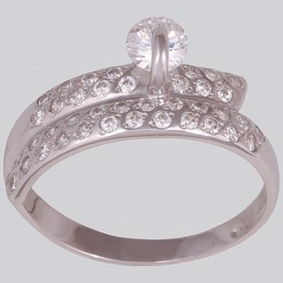 Серебряное кольцо Фианит арт. 13261-р 13261-р