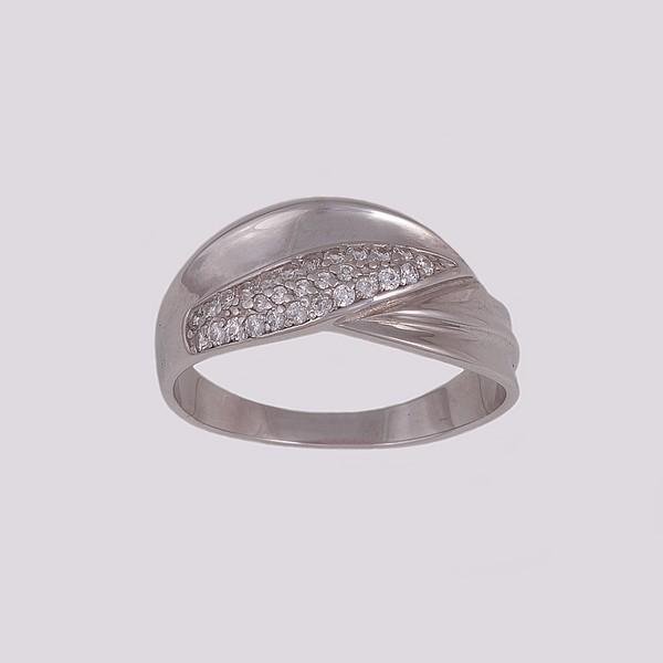 Серебряное кольцо Фианит арт. 14824-р 14824-р