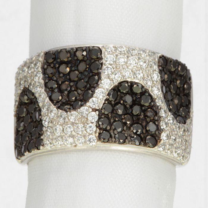Серебряное кольцо Без вставки арт. 14120-рб\ч72 14120-рб\ч72