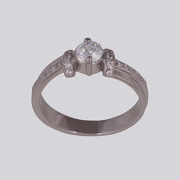 Серебряное кольцо Фианит арт. 14565-р 14565-р