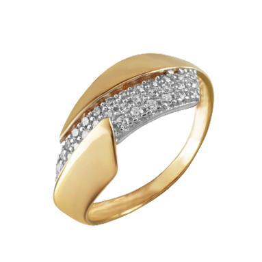 Золотое кольцо Фианит арт. 4242 4242