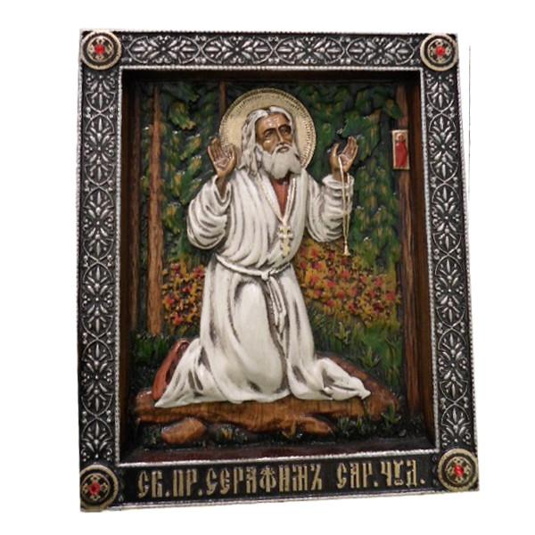 Икона Серафим Саровский арт. С.Саровский1.23.19.5 С.Саровский1.23.19.5