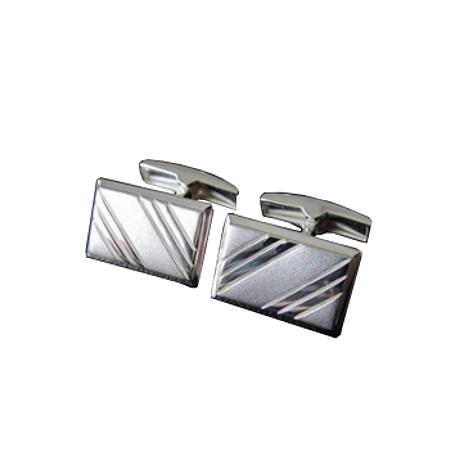 Серебряные запонки арт. 140029 140029