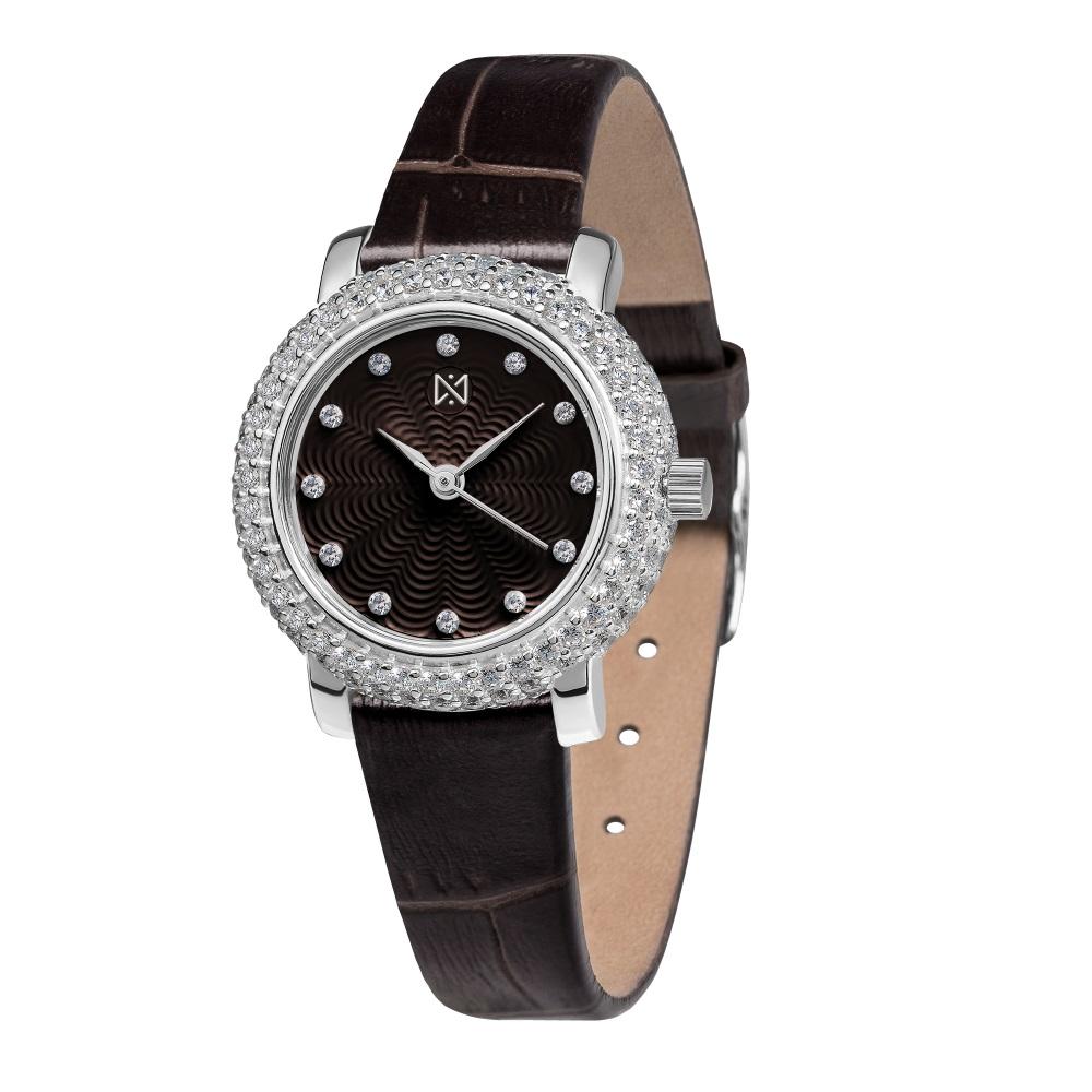 Женские часы из серебра с фианитом арт. 0008.2.9.66а 0008.2.9.66а