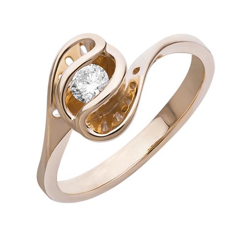 Золотое кольцо Бриллиант арт. 1-02038 1-02038