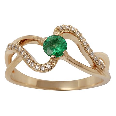 Золотое кольцо Бриллиант арт. 1-02367 1-02367