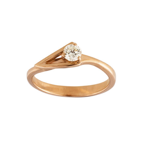 Золотое кольцо Бриллиант арт. 1-01497 1-01497