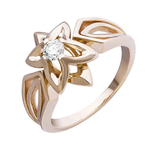 Золотое кольцо Бриллиант арт. 1-00693 1-00693