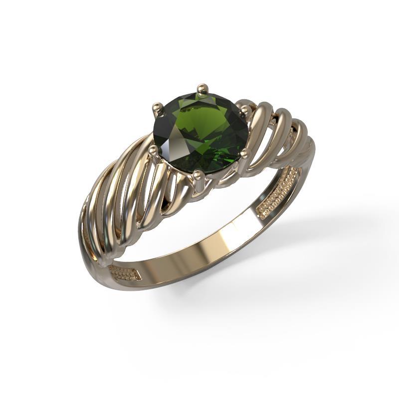 Золотое кольцо Хризолит арт. 1028331-11220-н 1028331-11220-н