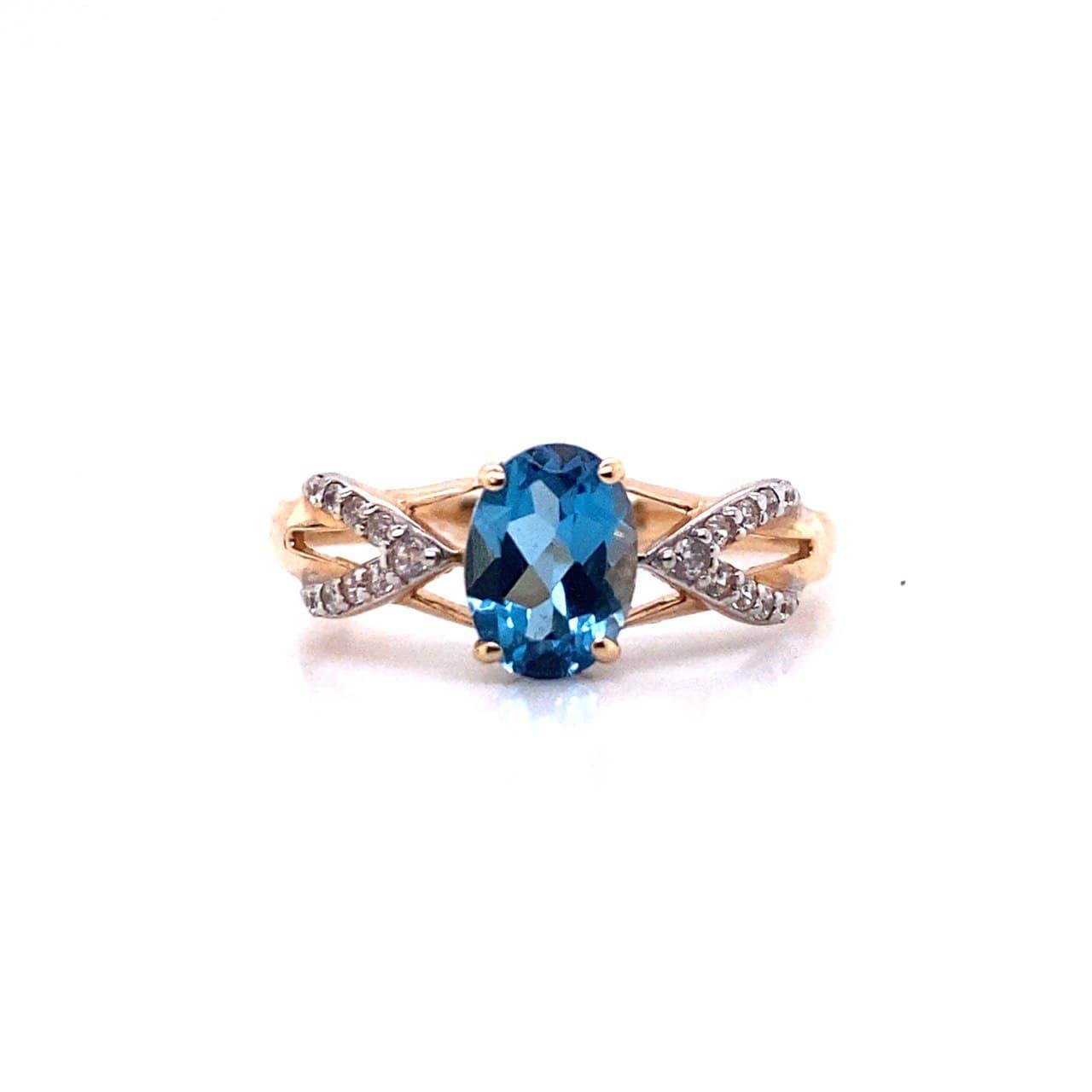 Золотое кольцо 11073тт