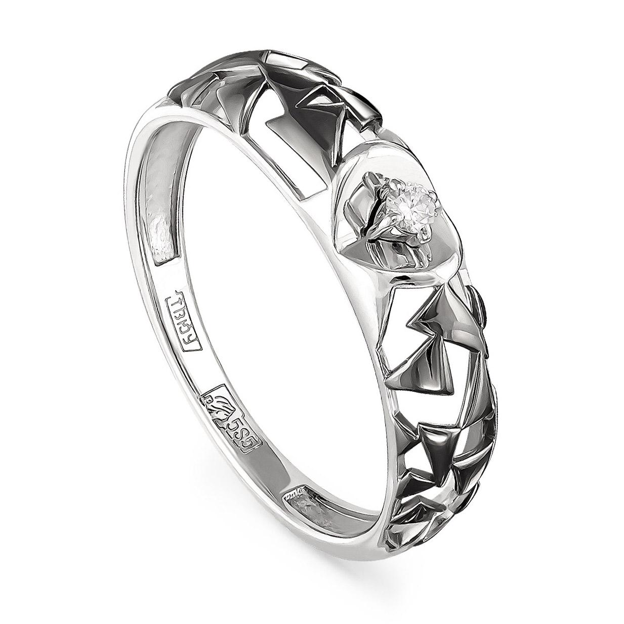 Кольцо из белого золота Бриллиант арт. 11-1934-1000 11-1934-1000