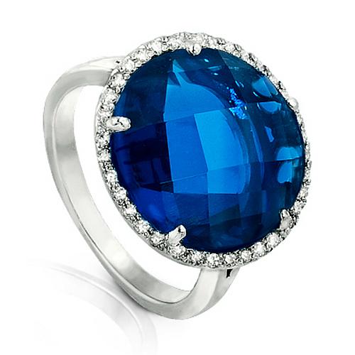Серебряное кольцо Фианит арт. я42000404 я42000404