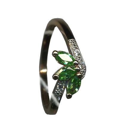 Серебряное кольцо Прочие и Фианит арт. я43500200 я43500200
