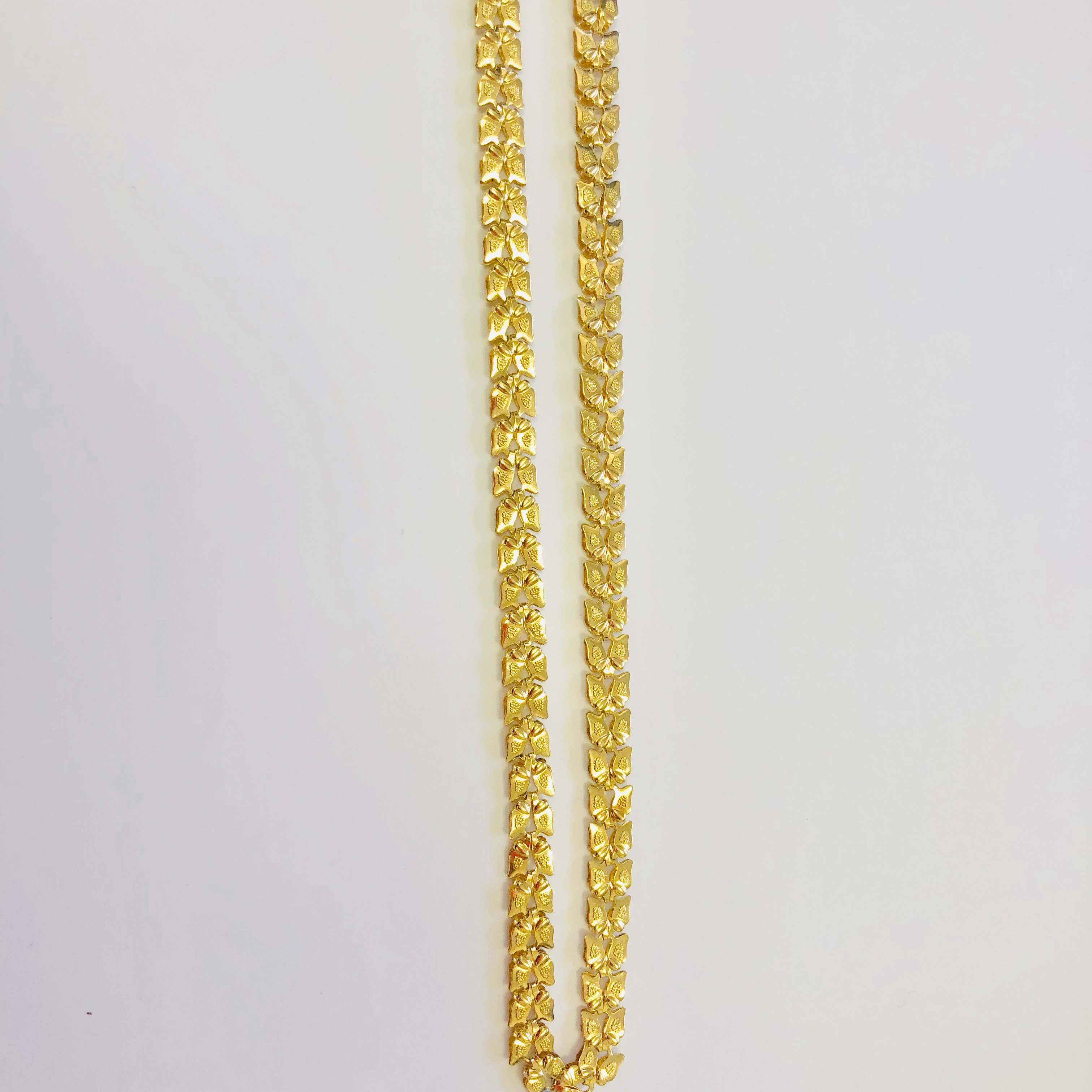 Фантазийная цепь из лимонного золота арт. ди 199 ди 199